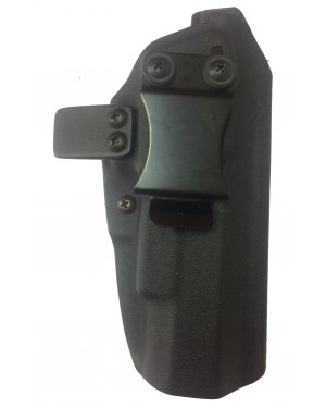Coldre de Kydex Slim cor Preto  IMBEL MD5 / MD7 / MD2