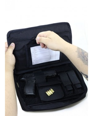 Case Tático Arma Curta  Preto Tactical Dacs